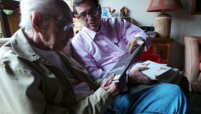 Manoel de Barros, nosso poeta das novas palavras, manda notícias