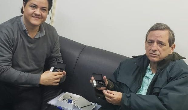 Por meio de parceria, apresentadores da TVE Cultura terão novos pontos eletrônicos