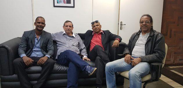 Presidente e diretor-executivo da Federação de MS de Capoeira visitam a Fertel