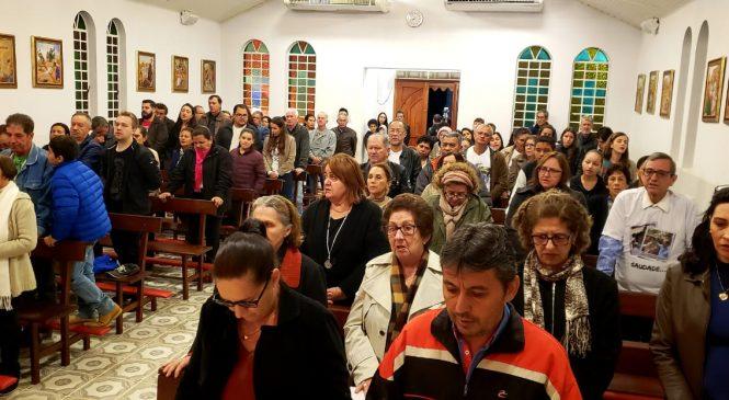'Emoção' marcou a celebração da Missa em memória ao professor Waldemar em Bonito (MS)