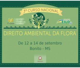 Bonito sediará curso nacional da Enfam sobre Direito Ambiental em setembro