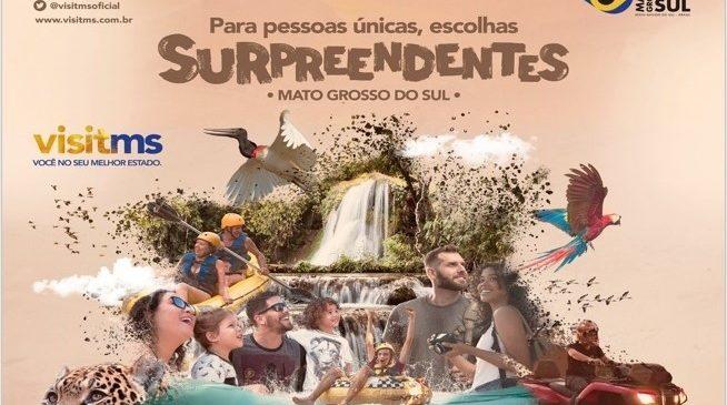 Ações simultâneas promovem turismo de Mato Grosso do Sul em feiras e eventos nacionais e internacionais