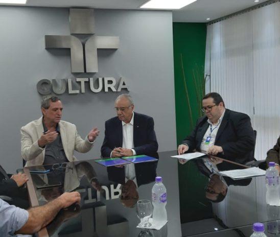 TVE Cultura MS e TV Cultura SP assinam acordo para ampliação de sinal e digitalização de acervo
