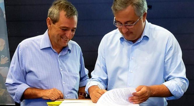Presidente da Fertel e controlador-geral assinam termo de adesão ao Programa MS de Integridade